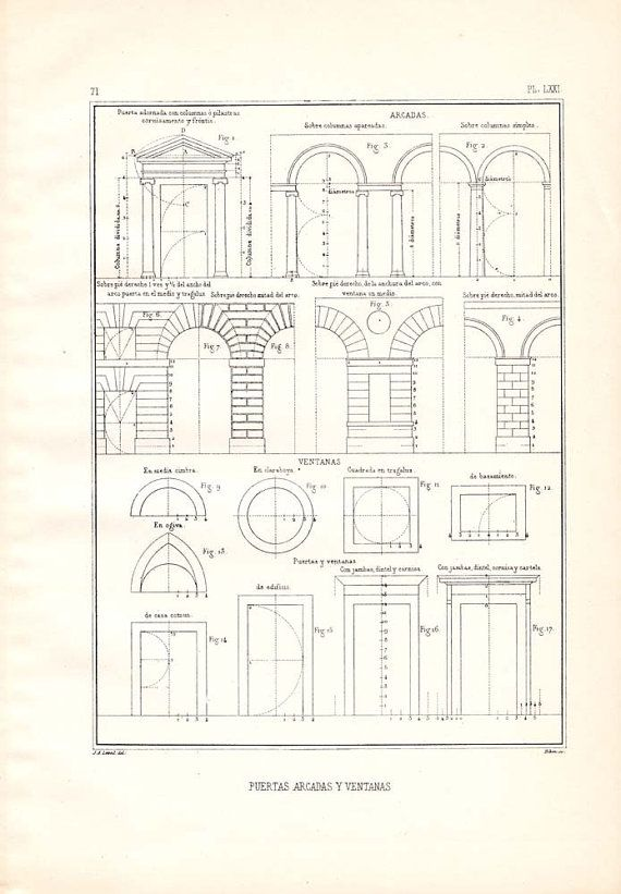 Architectural Prints Window And Doors On Pinterest