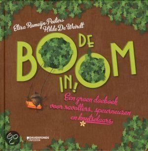 #Boekentip Papiergoed nr. 13: De Boom In   Met dingen uit het bos kan je heel goed knutselen!