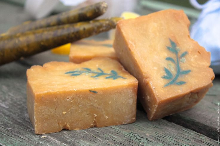 "Buy Natural soap ""Wormwood"" - natural soap, wormwood soap, silk soap"