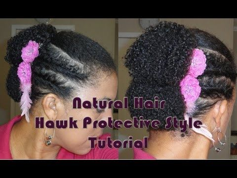 Protective Bun Styles For Natural Hair