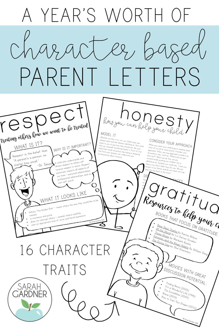 The color red scarlet letter project publish with glogster - Character Education Parent Letters Bundle
