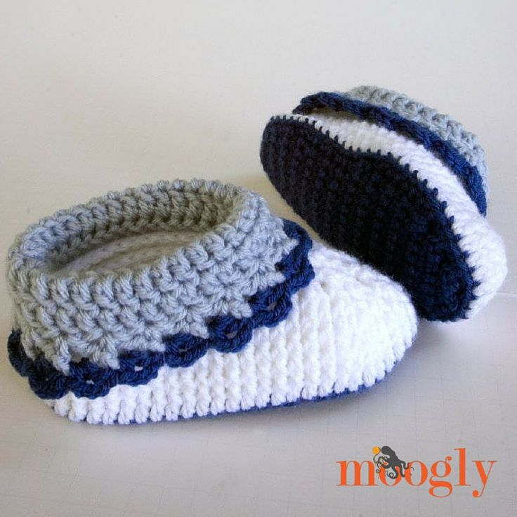 240 best Crochet Baby Booties & Sandals images on Pinterest | Baby ...