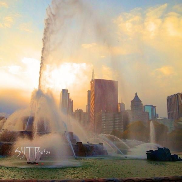 Chicago HDR. Lil park by DwightxHDR on DeviantArt