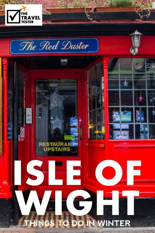 8 Things to do on the Isle of Wight, England in Winter (London Weekend Break)    The Travel Tester