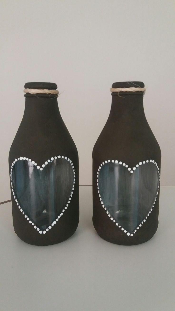 Recicle garrafas - Que fofas
