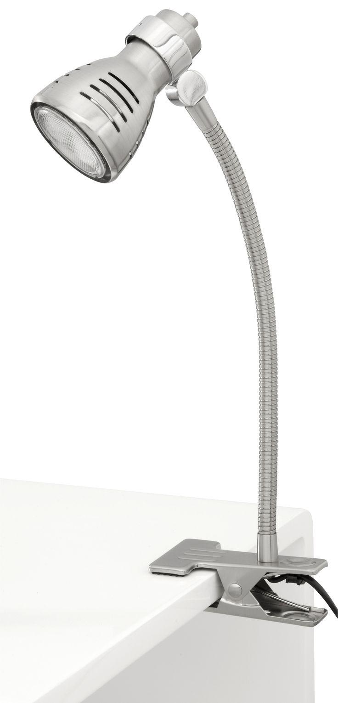 Sorrento Eco Flex Clip Lamp in Brushed Chrome
