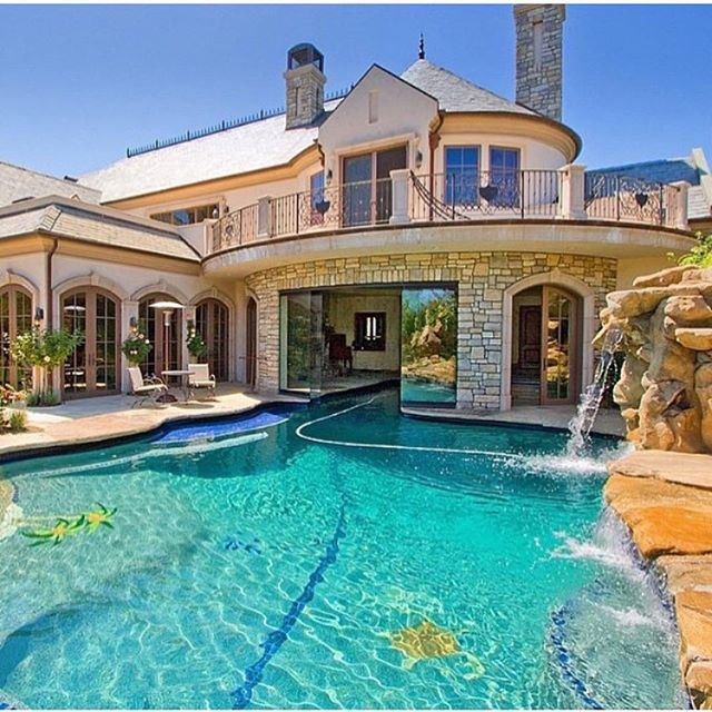 Beautiful Houses With Pools: 94 Best H O M E • C A R Images On Pinterest