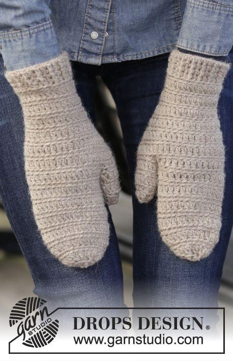 Crochet Patterns Galore - Linnéa Mittens