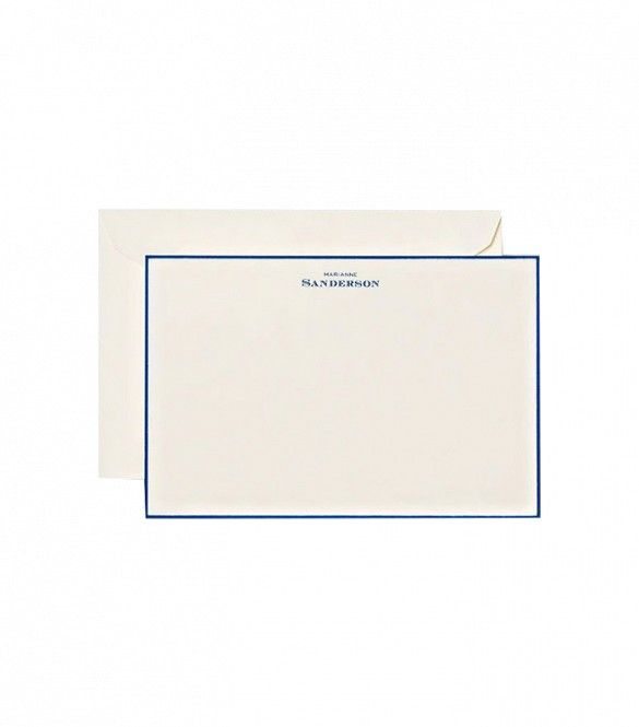 Crane Hand Bordered Noblesse Correspondence Cards