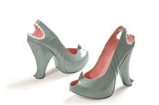 The Kobi Levi Shark Shoes Would Make Steven Spielberg Proud #shoes #footwear trendhunter.com