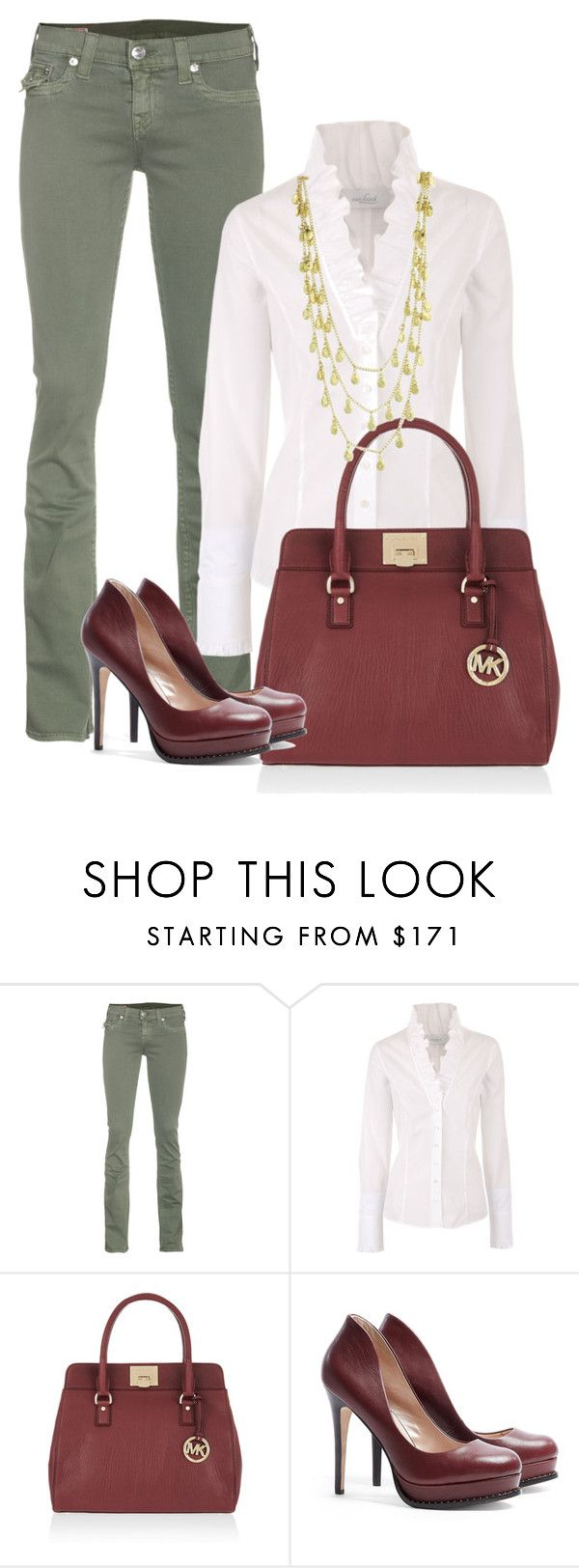 """""""No. 72 - (2 of 2) One Idea, Two Outfits"""" by hbhamburg ❤ liked on Polyvore featuring True Religion, VAN LAACK, MICHAEL Michael Kors, DKNY and Z Designs"""