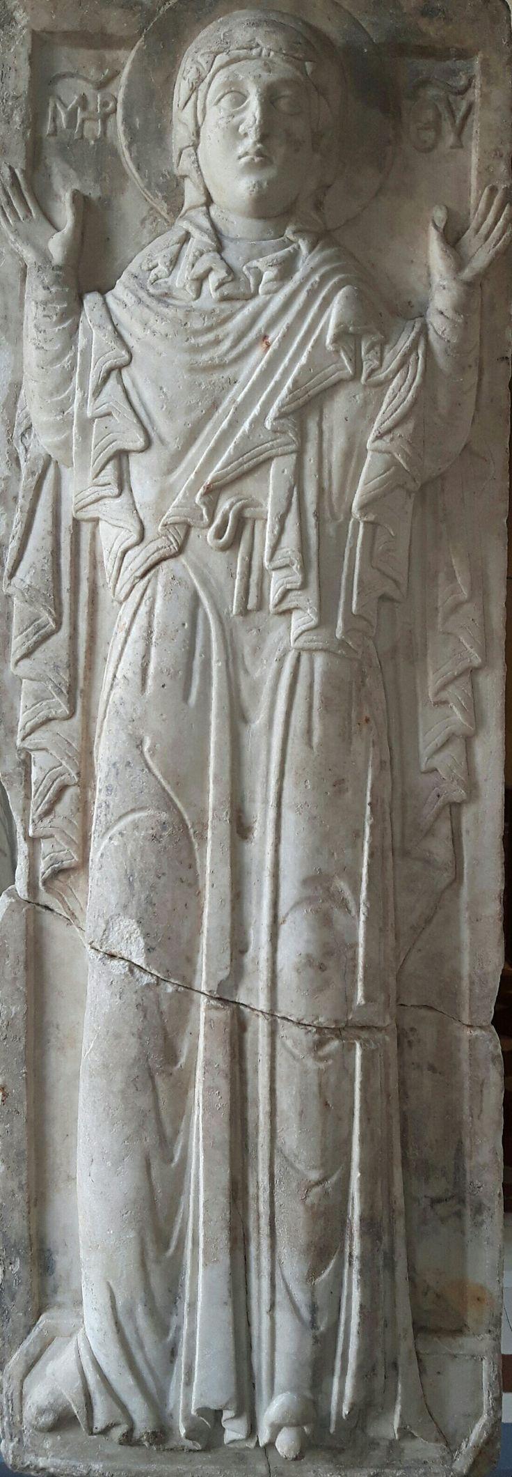 Rilievo in marmo della Madre di Dio. 1275. Bode Museum Berlino