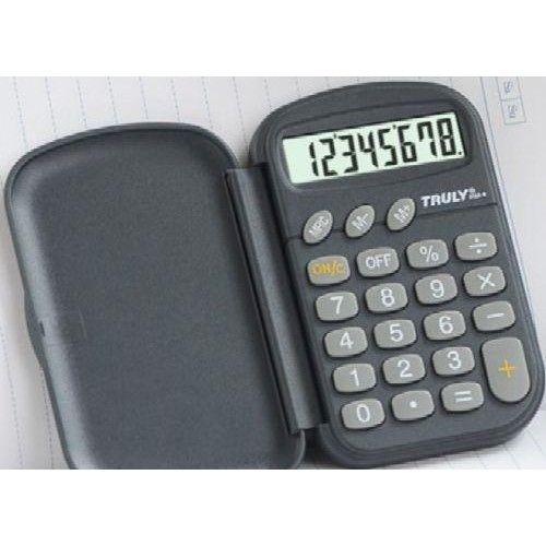 Zsebszámológép 8 számjegyes, nagy kijelzővel Truly 319A-8 - Számológépek Ft Ár 569