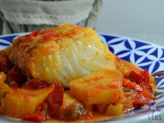La cocina de Samira: Bacalao al horno con verduras y patatas