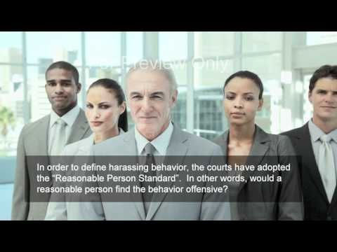 Harassment Made Simple - Workplace Harassment Prevention Video - YouTube
