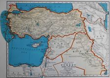 114 best palestine exists images on pinterest maps palestine and vintage 1940 atlas map world war ww ii iraq turkey syria palestine gumiabroncs Images