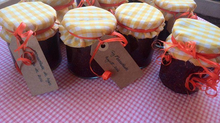 Fig marmelade / Mermelada de higos / Gem de smochine