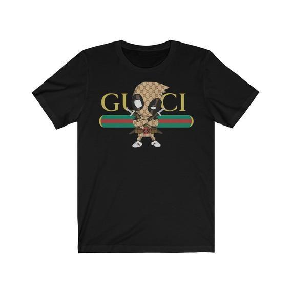 273d1a19 image 0 | Gucci Deadpool super hero unisex t-shirt | T shirts for ...