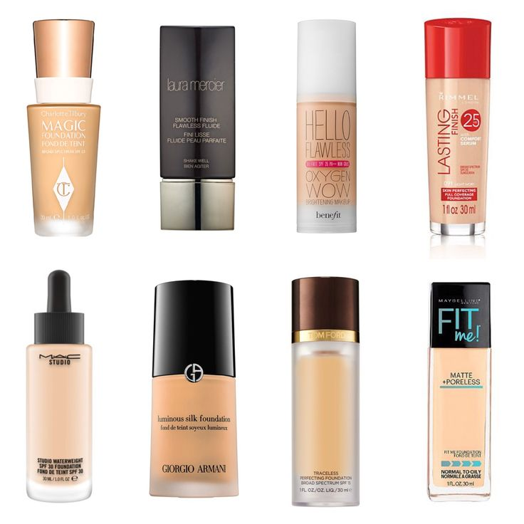 Glowing illuminating foundations