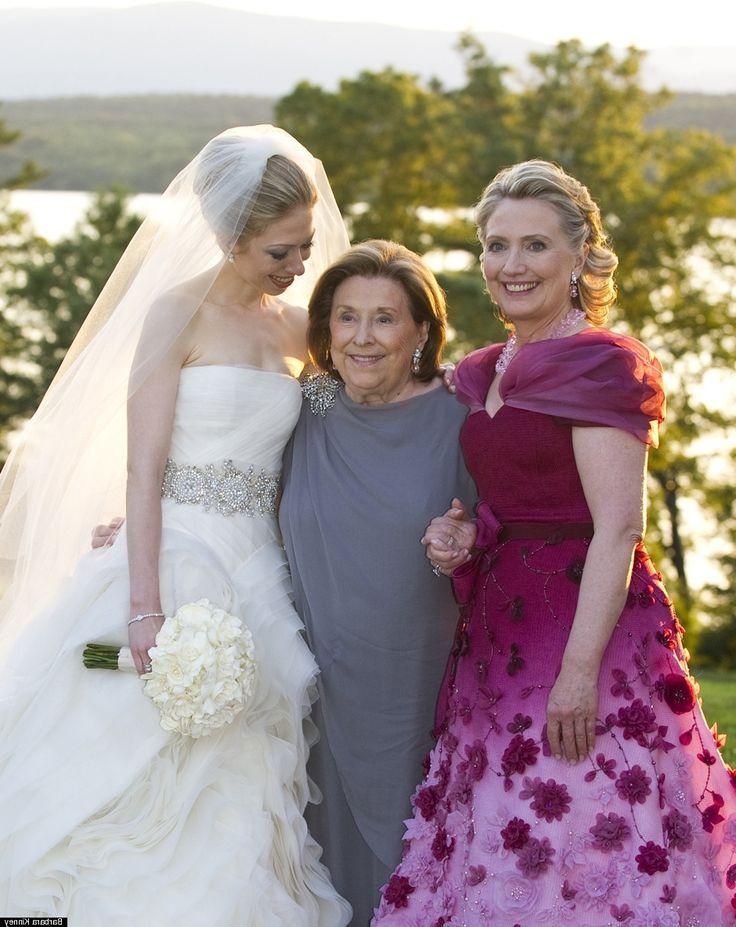 Hillary Rodham Clinton Wedding Dress
