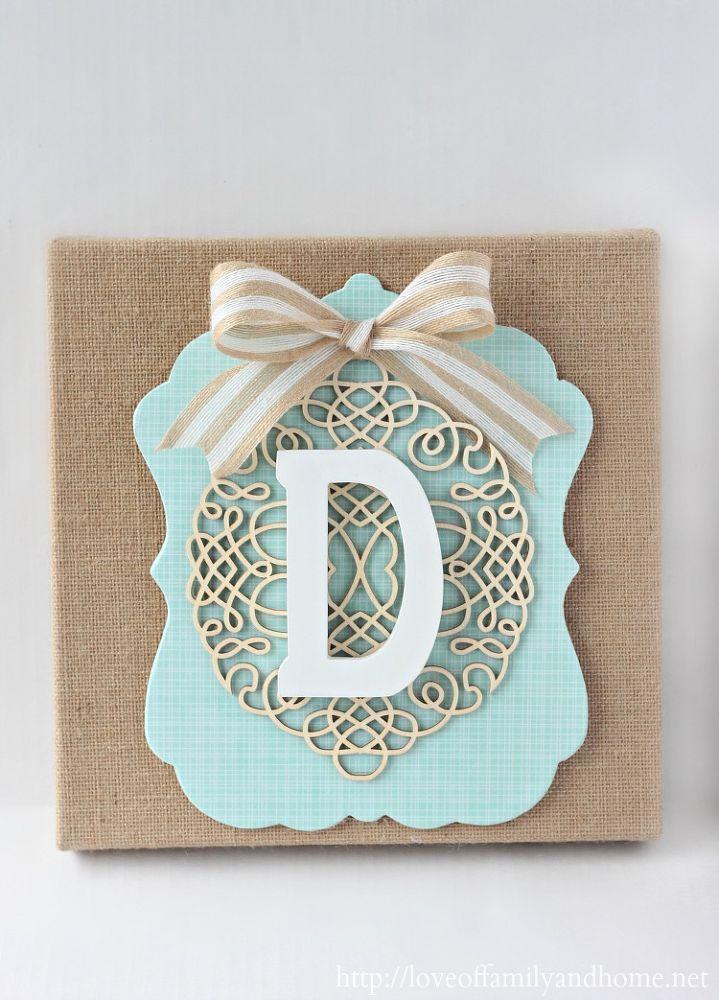 DIY+layered+burlap+monogram