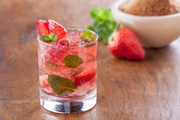 World's Best Strawberry Mojito Recipe from the Florida Strawberry Growers Association! Mojitos are sweet, minty and icy-cold cocktails; perhaps the best hot weather cocktail around!