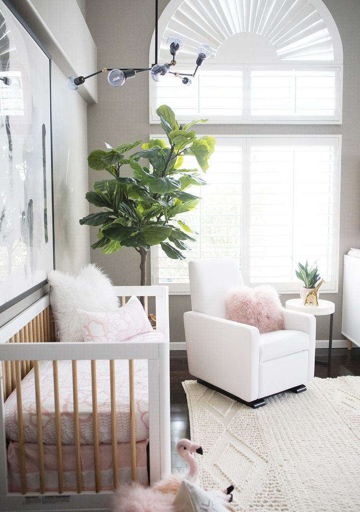 Kailee-Wright_Nursery - a white and pink nursery for a baby girl featuring the Grano & 38 best Girlu0027s Nursery Ideas images on Pinterest | Nursery ideas ... islam-shia.org