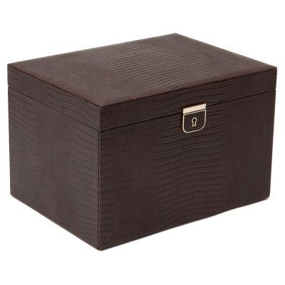 WOLF Palermo Large Jewelry Box Brown - 213095