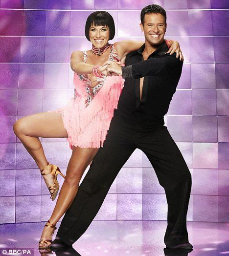 Jessie Wallace and Darren Bennett.