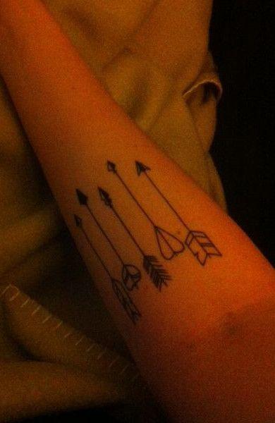 Татуировка стрела