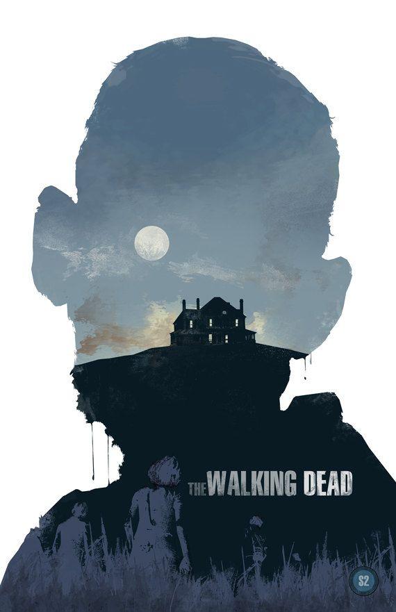 The Walking Dead-Season 2 - the walking dead, zombie, horror, movie poster