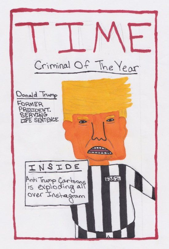 11 Year Old Posts anti.trump.cartoons on Instagram and They Are Today's Best Thing!