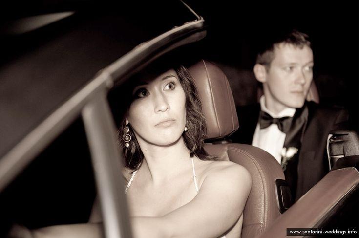 Santorini wedding cars
