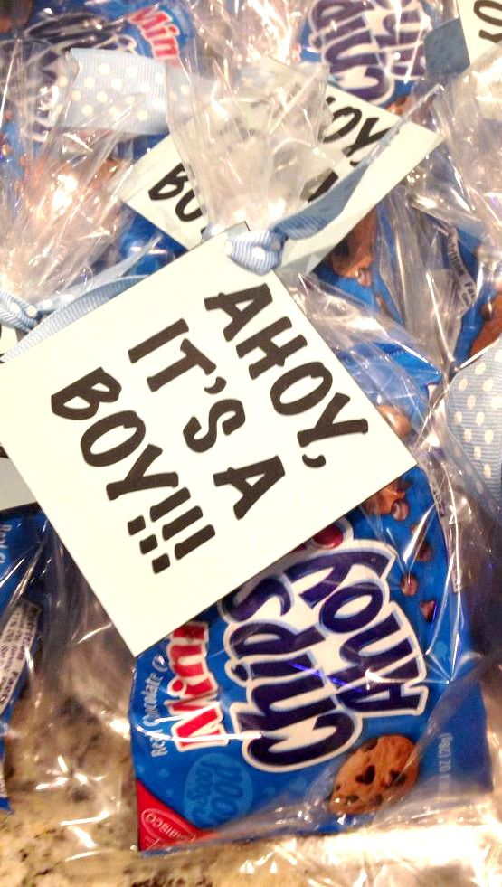 Ahoy, It;s A Boy Baby Shower Favors ~ cute Idea {photo only}