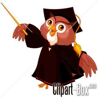 CLIPART OWL TEACHER