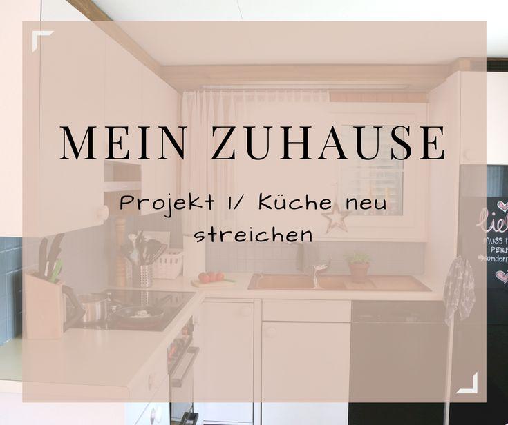 Ich habe meiner alten Küche einen neuen Farbanstrich gegönnt. Wie es rausgekommen ist erfährst du hier: http://foehnlocke.ch/mein-zuhause-projekt-1-kueche-neu-streichen/