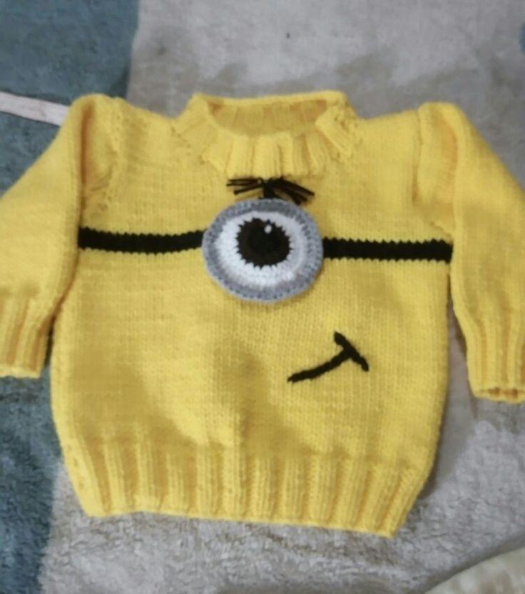 Suéter mínions.......