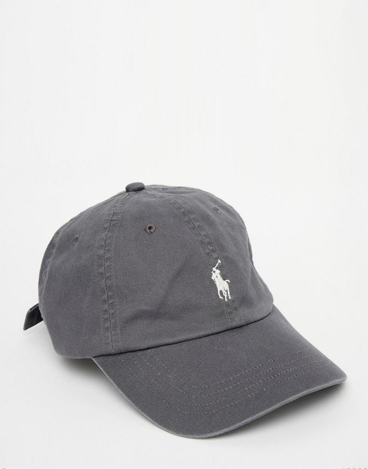 Image 1 of Polo Ralph Lauren Logo Baseball Cap