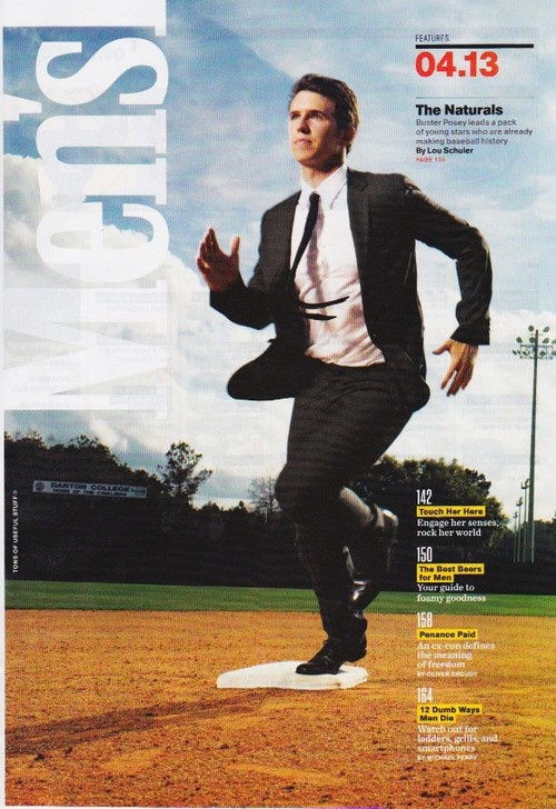 Buster Posey is gorgeous. Don't even care that he's a Giant. So pretty!!