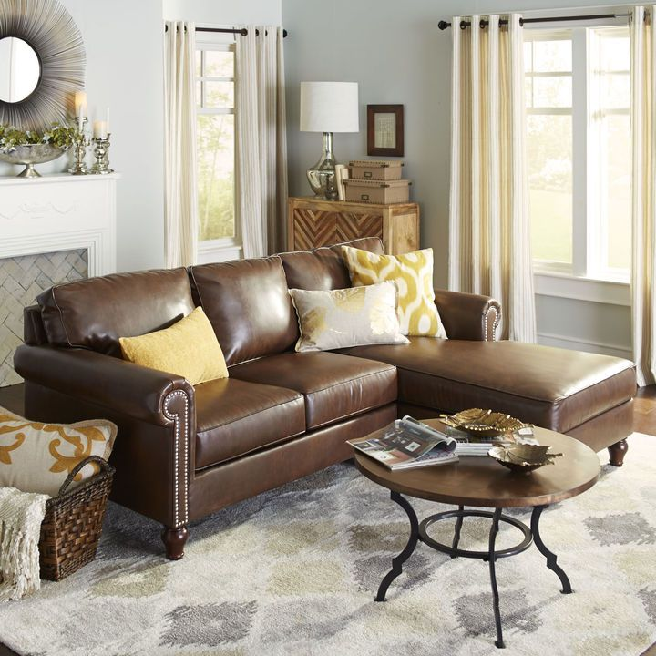 Best 25+ Brown sectional ideas on Pinterest | Leather living room furniture Leather sectional and Grey basement furniture : build your own sectional couch - Sectionals, Sofas & Couches