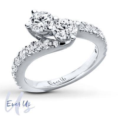 Kay - Ever Us Two-Stone Ring 2 This is the ring I finally decided on <3