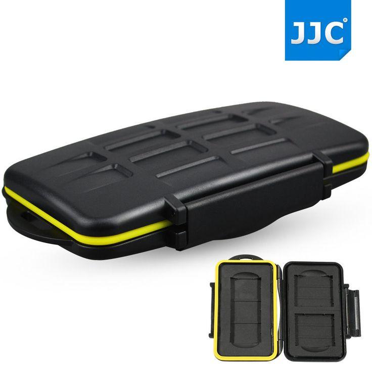 JJC Water-resistant Holder Hard Storage Memory Card Case For 2 CF 1 SXS Card #JJC
