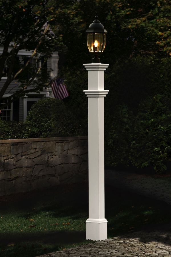 Portsmouth Vinyl Lamp Post Outdoor Lamp Posts Lamp Post Lantern Post