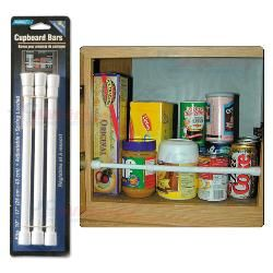 Spring rods for storage