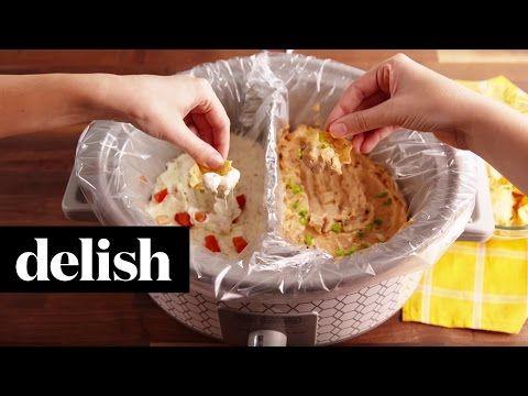Brilliant Slow Cooker Hacks - Slow Cooker Divider Hack - Delish.com