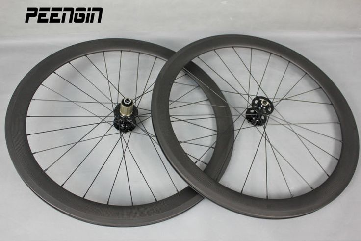 50mm carbon clincher 700c disc wheelset bicycle wheels OEM 23/25mm wide rodas de carbono cyclocross XD body novatec QR/thru axle #Affiliate