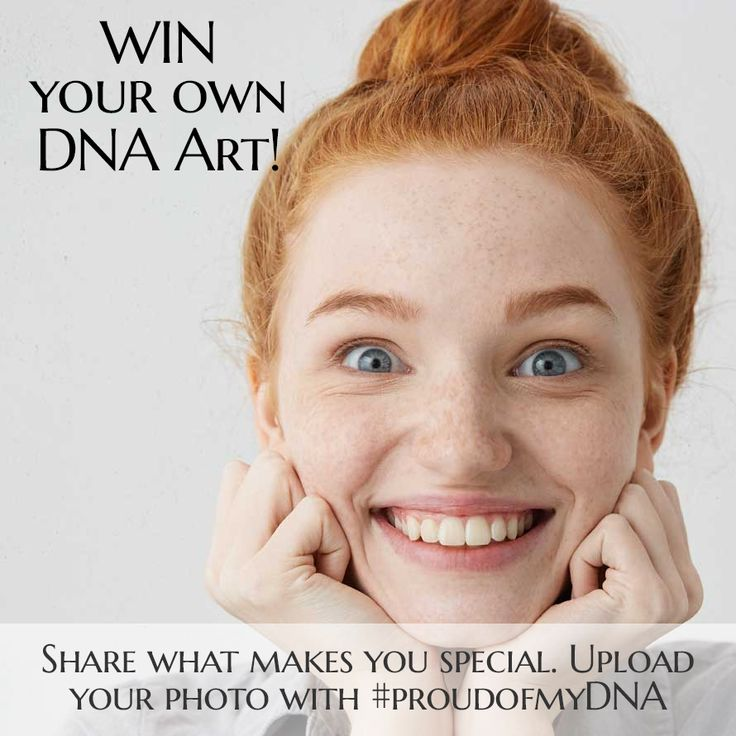 In celebration of the holiday season, win your own DNA Art (value $520). Follow us and take a pic of what makes you special, upload and tag @genoartdna and hashtag #proudofmyDNA. #dnaart