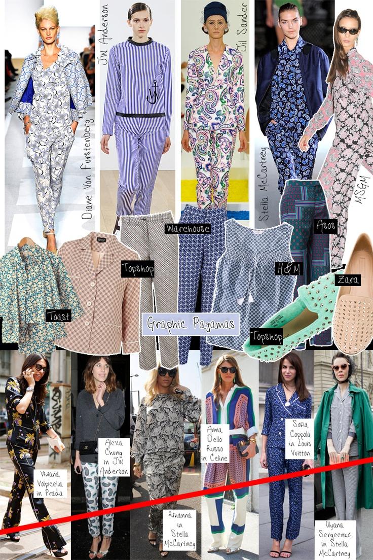Wake up: pajamas trend  --> http://tinyurl.com/bwe96r3