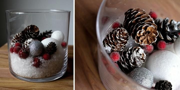 #Christmasdecoration #home #nordic #grey #red #winter