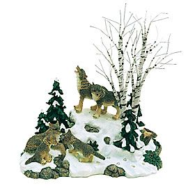 1866 best xmas images on pinterest department 56 products wolves in the woods view products publicscrutiny Image collections